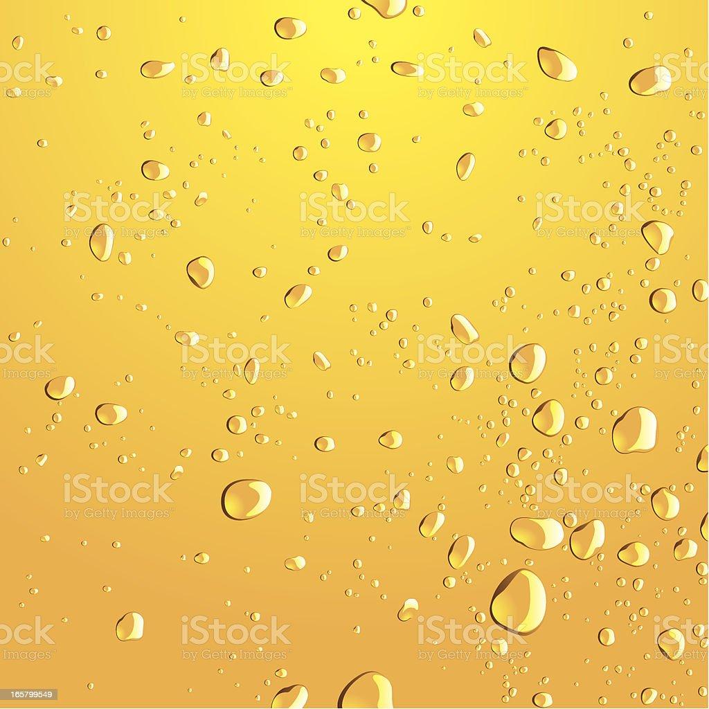 Water Drop & Bubble vector art illustration