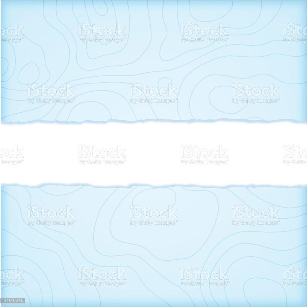 Water Map Topographic Lines vector art illustration