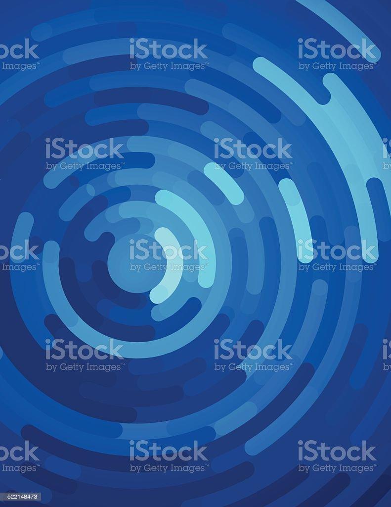 Water Ripple Abstract Background vector art illustration