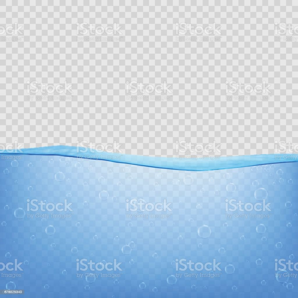 Background image transparency - Water Sea Ocean With Transparency On Transparent Background Royalty Free Stock Vector Art