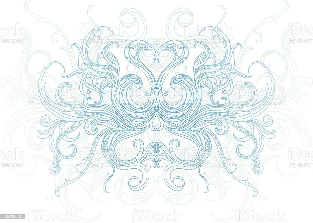 Wasser spirit Lizenzfreies vektor illustration