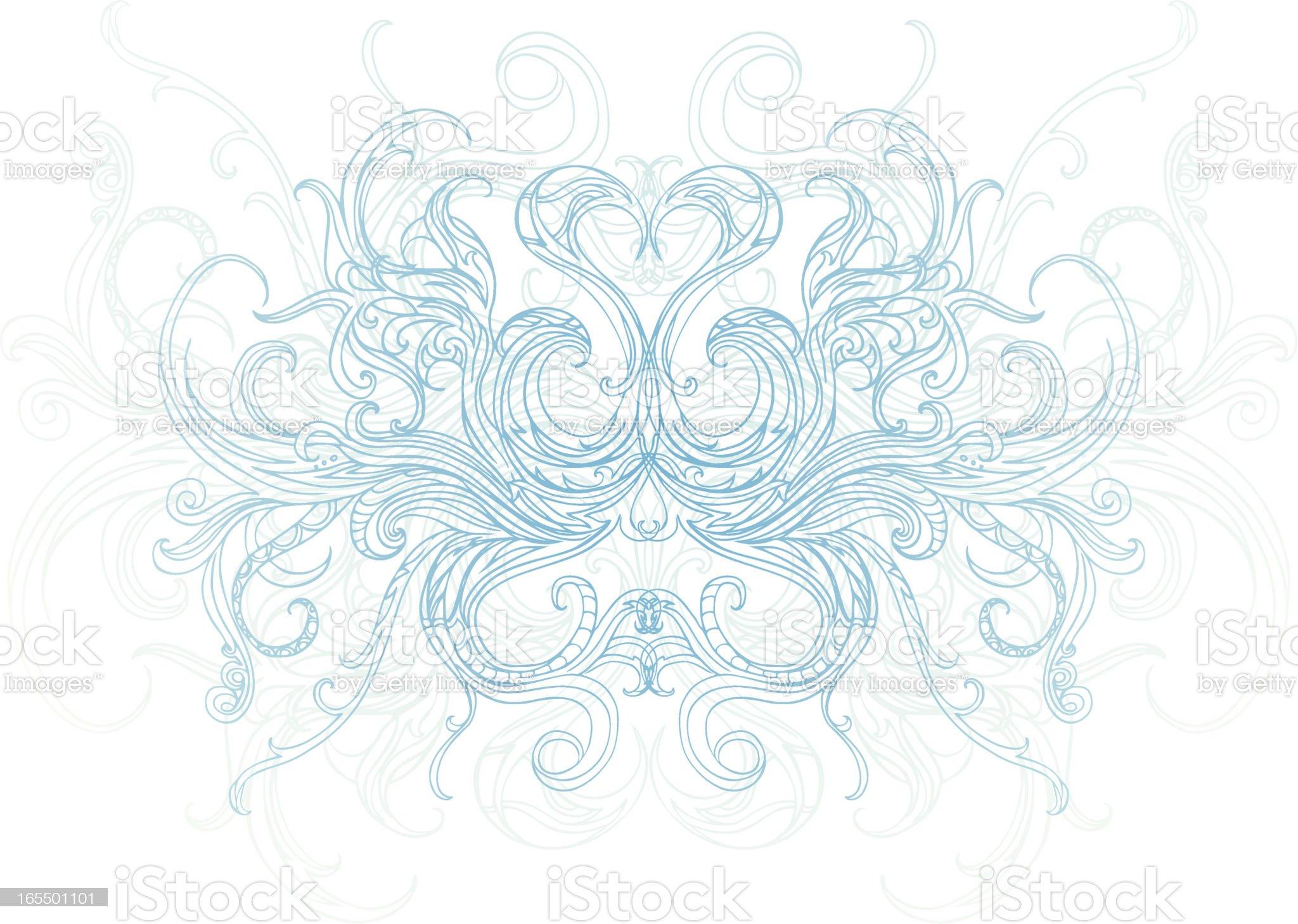 water spirit royalty-free stock vector art