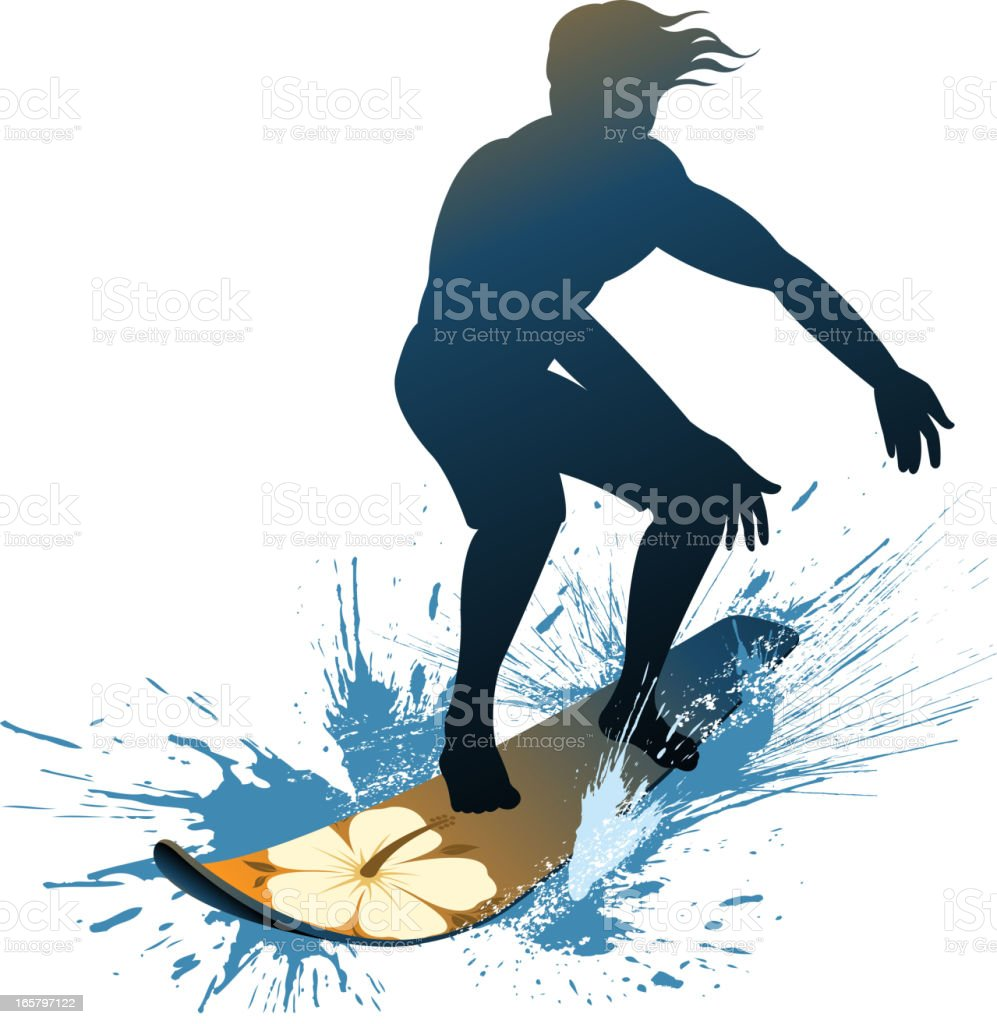 water sport vector art illustration