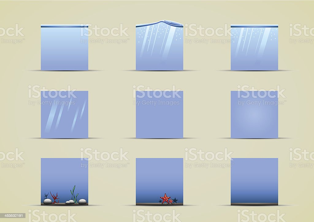 water sprites collection royalty-free stock vector art