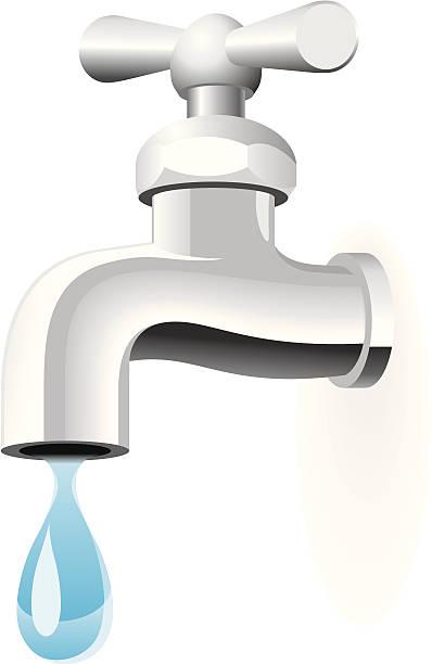 Faucet Clip Art, Vector Images & Illustrations - iStock