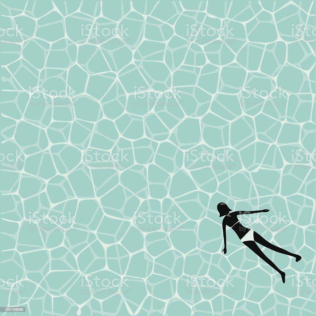 water texture vector art illustration
