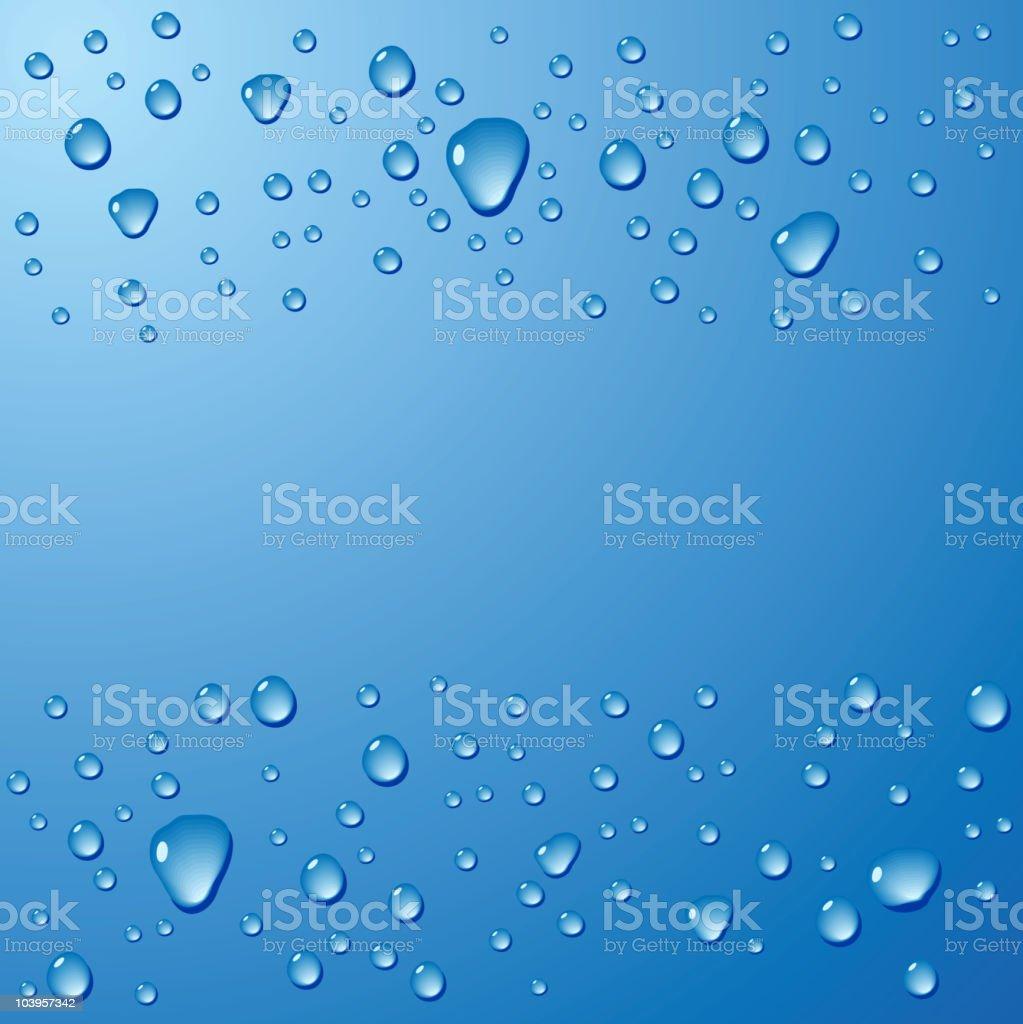 Water. vector art illustration