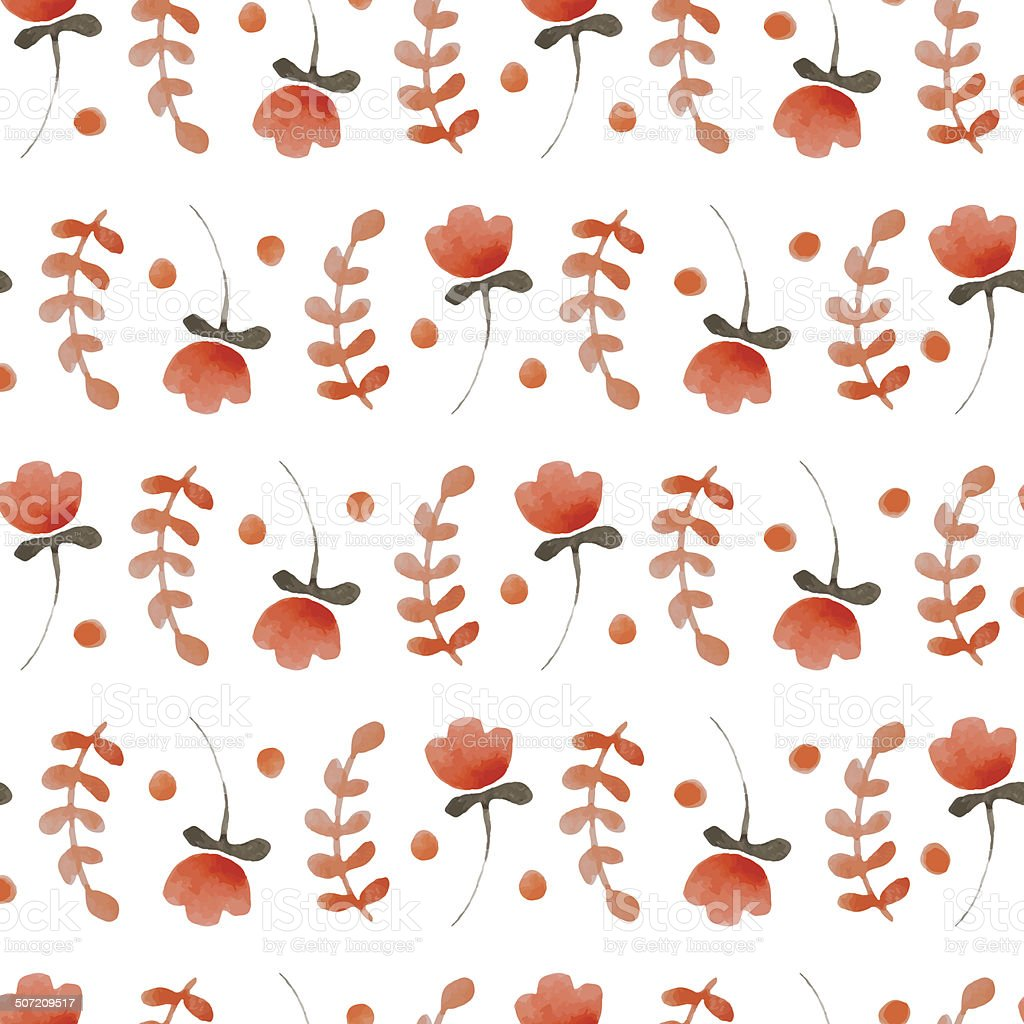 Watercolor pattern royalty-free stock vector art