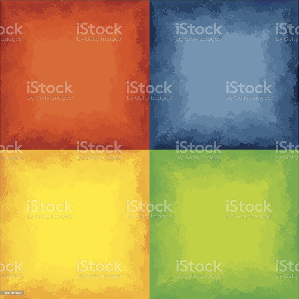 Watercolor Patterns royalty-free stock vector art