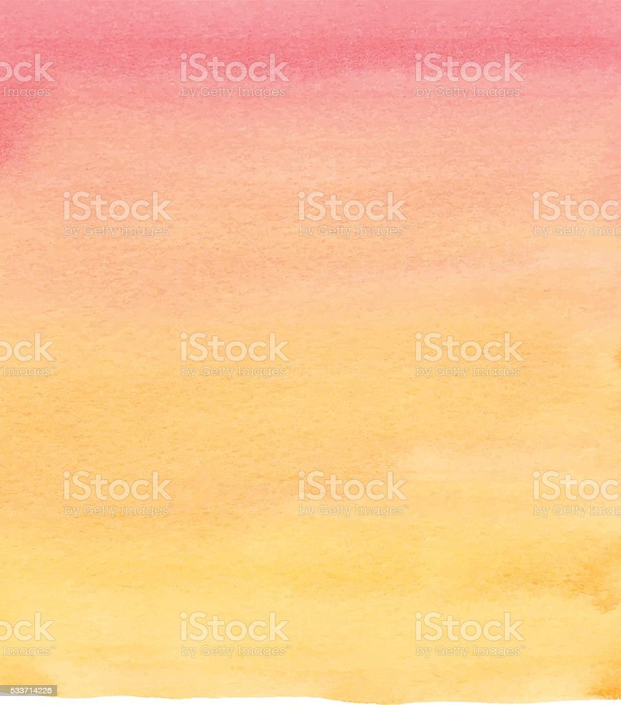 Watercolor Red and Blue Gradient vector art illustration