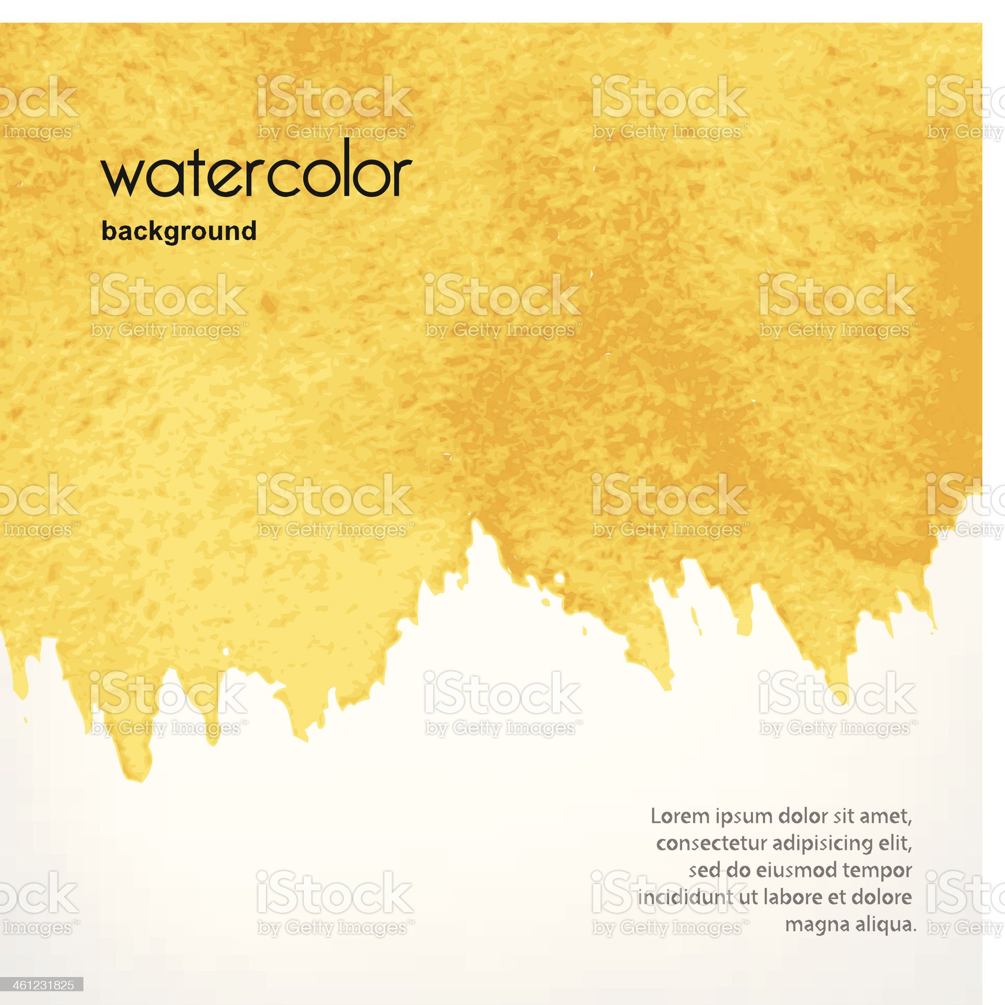 Watercolor stains in vector royalty-free stock vector art