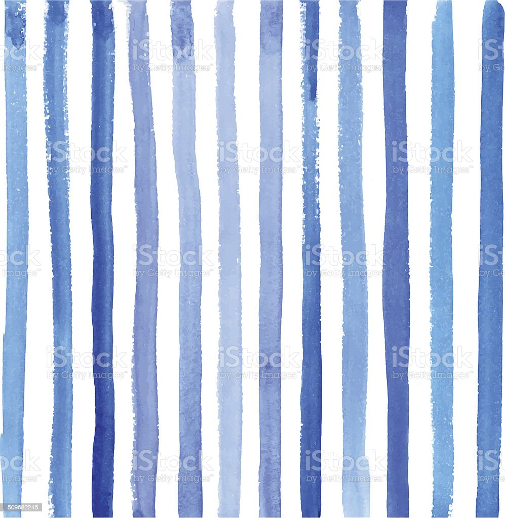 watercolor striped background vector art illustration