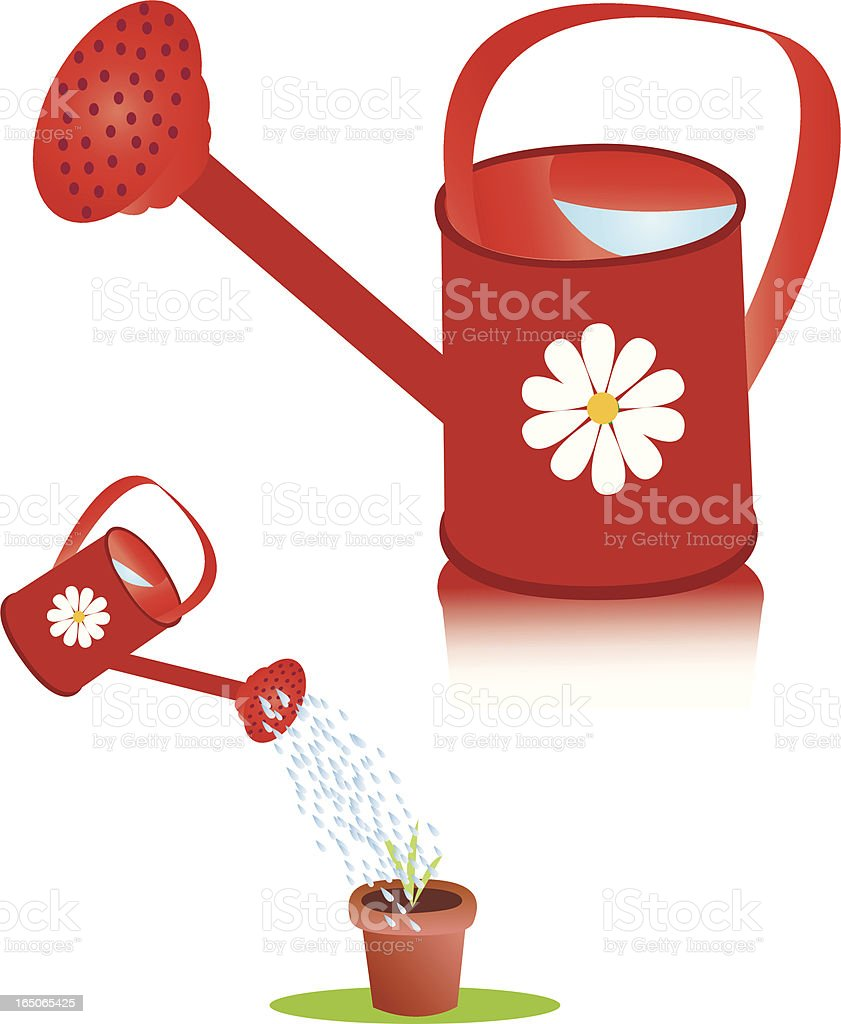 Watering Can royalty-free stock vector art