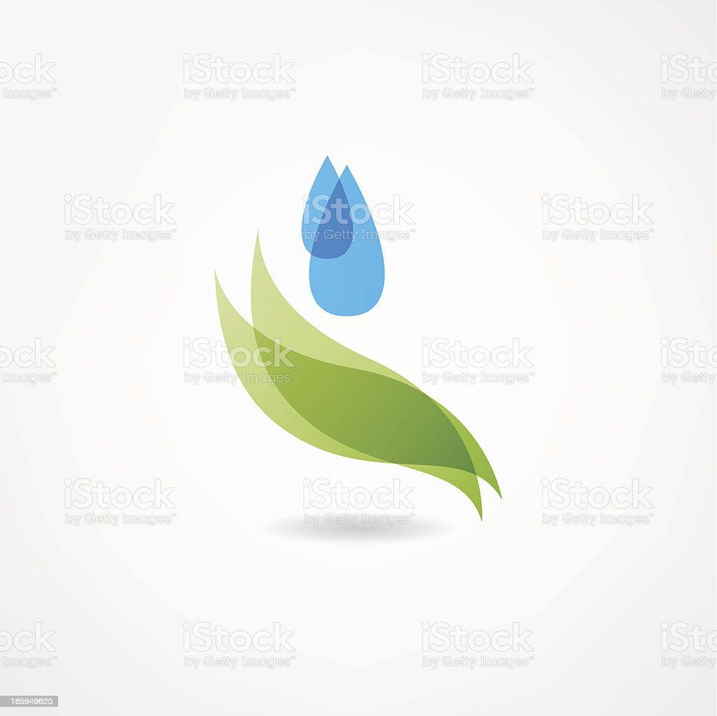 watering icon royalty-free stock vector art
