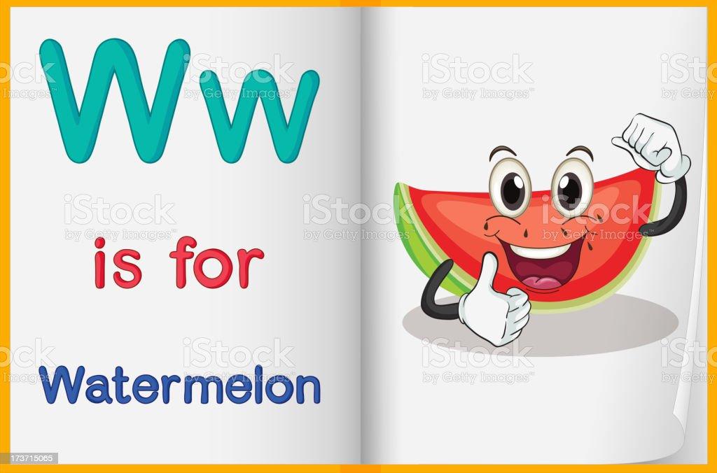 Watermelon royalty-free stock vector art