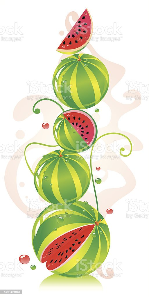 WatermelonHill royalty-free stock vector art