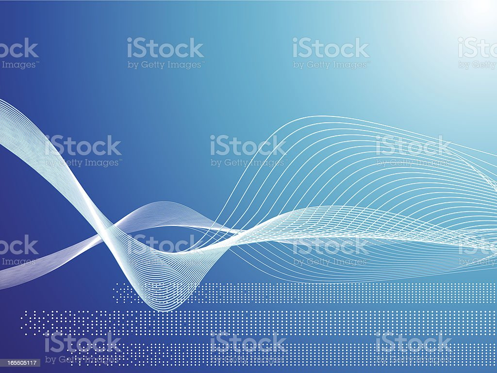 wave dinamic royalty-free stock vector art