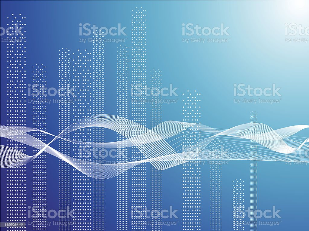 wave energy royalty-free stock vector art