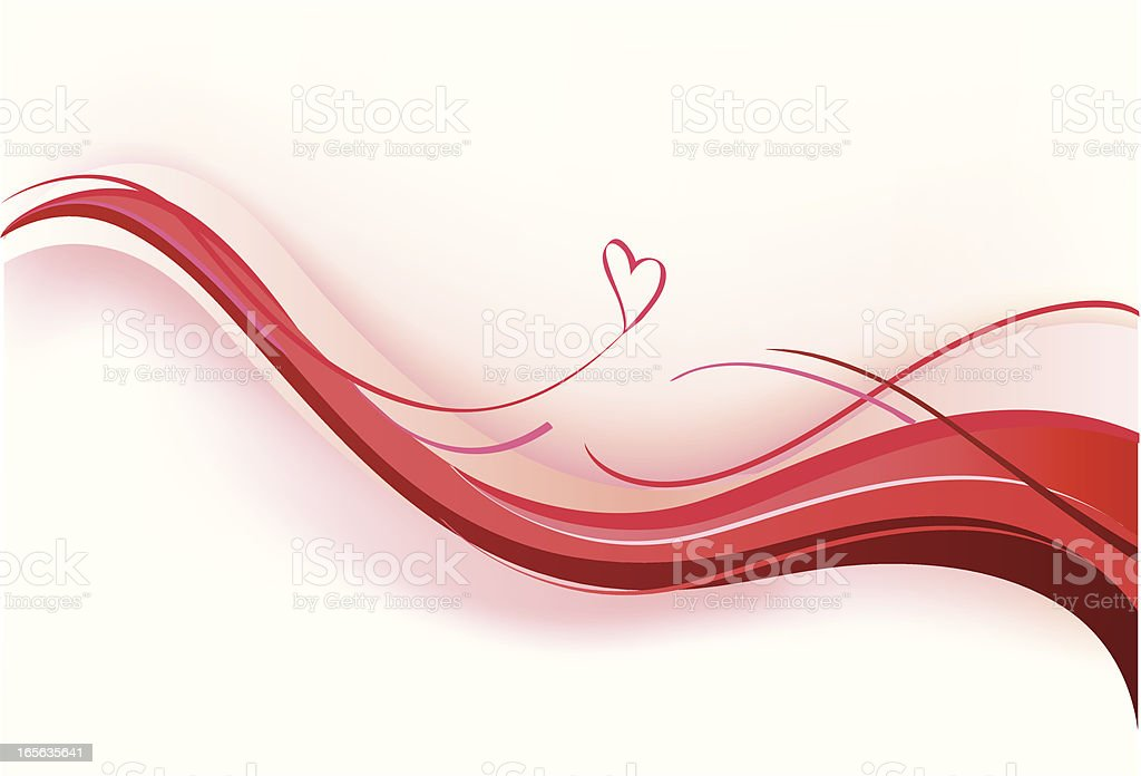 wave of love royalty-free stock vector art