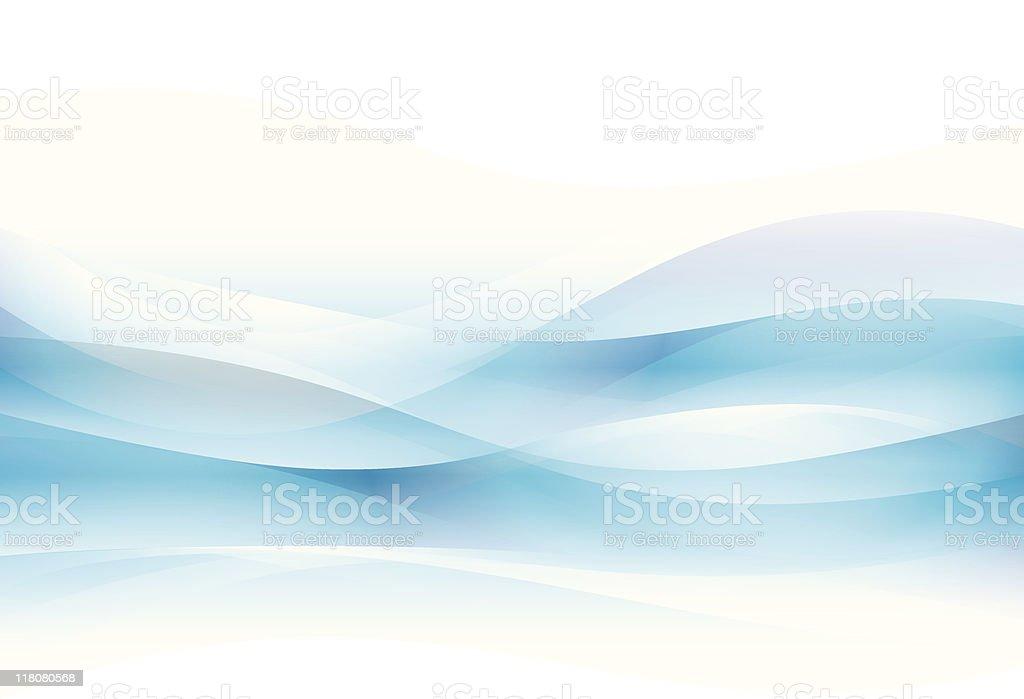 Wave vector art illustration