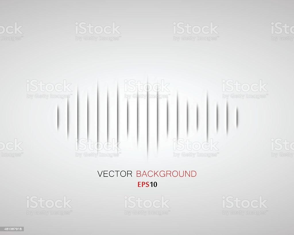 Waveform Background vector art illustration