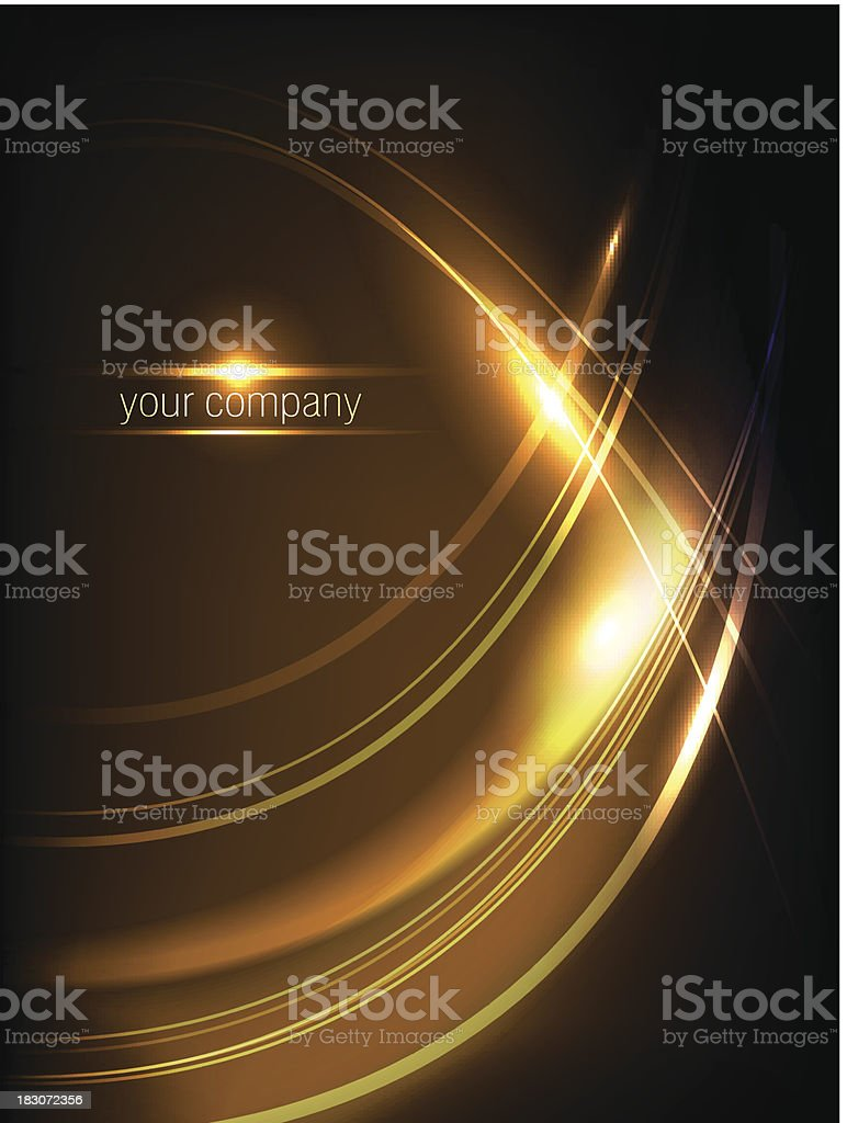 waves fire royalty-free stock vector art