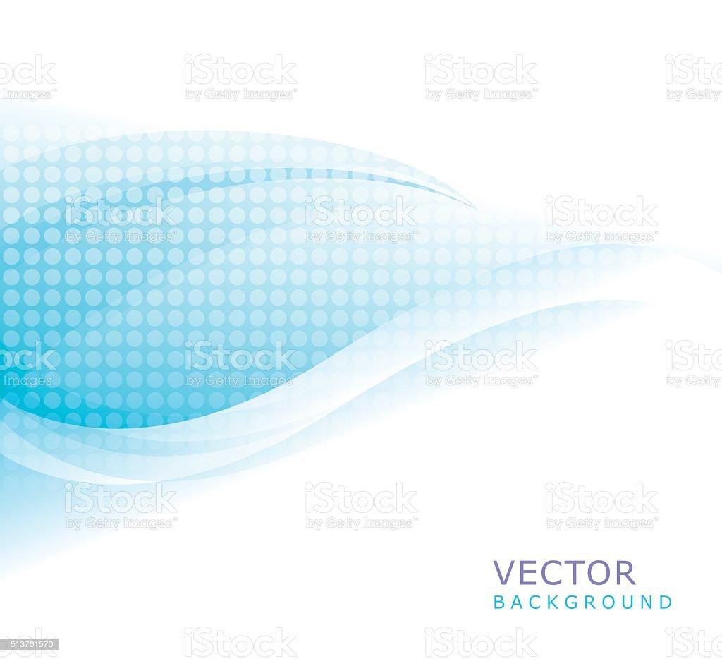 Waving Background vector art illustration