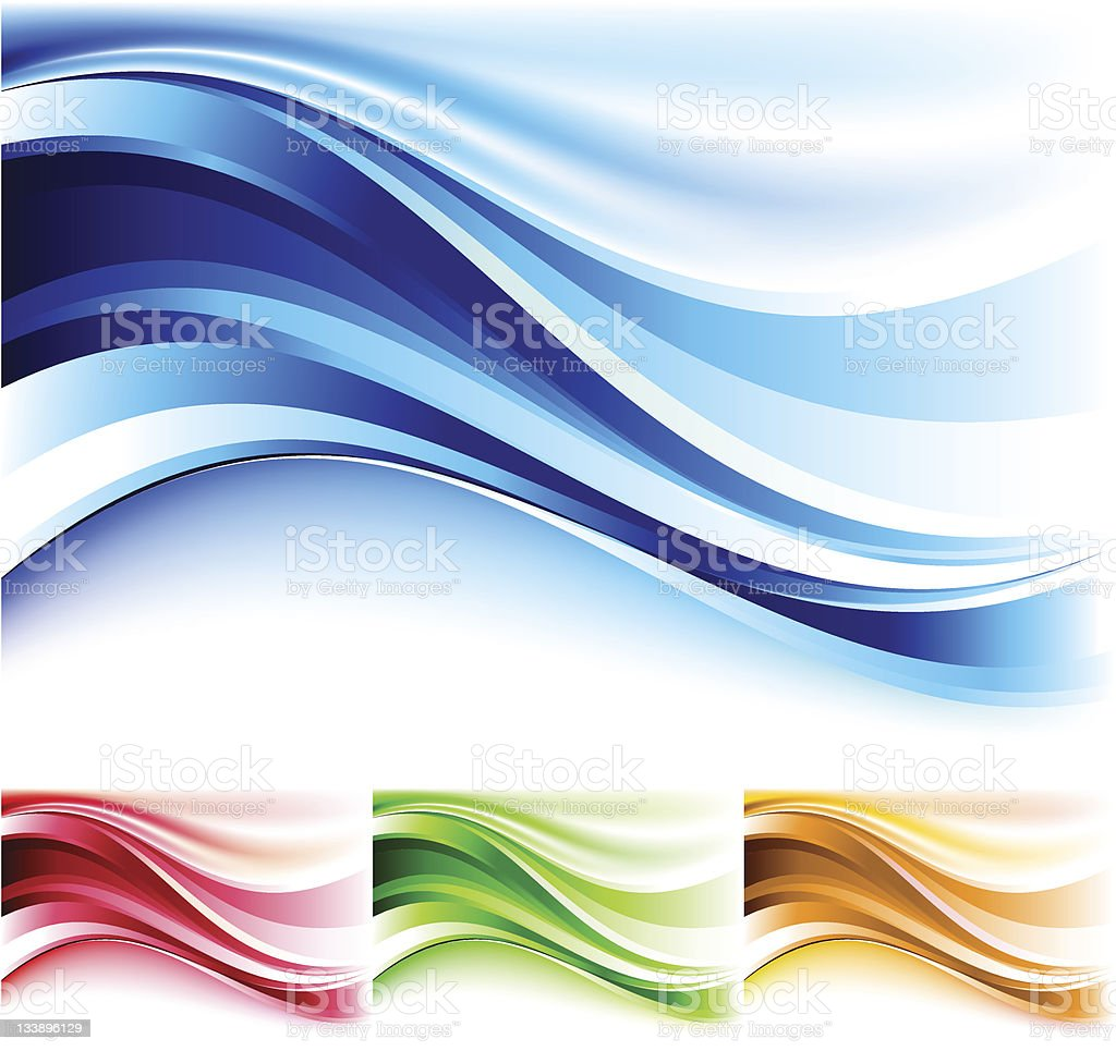Wavy background. royalty-free stock vector art