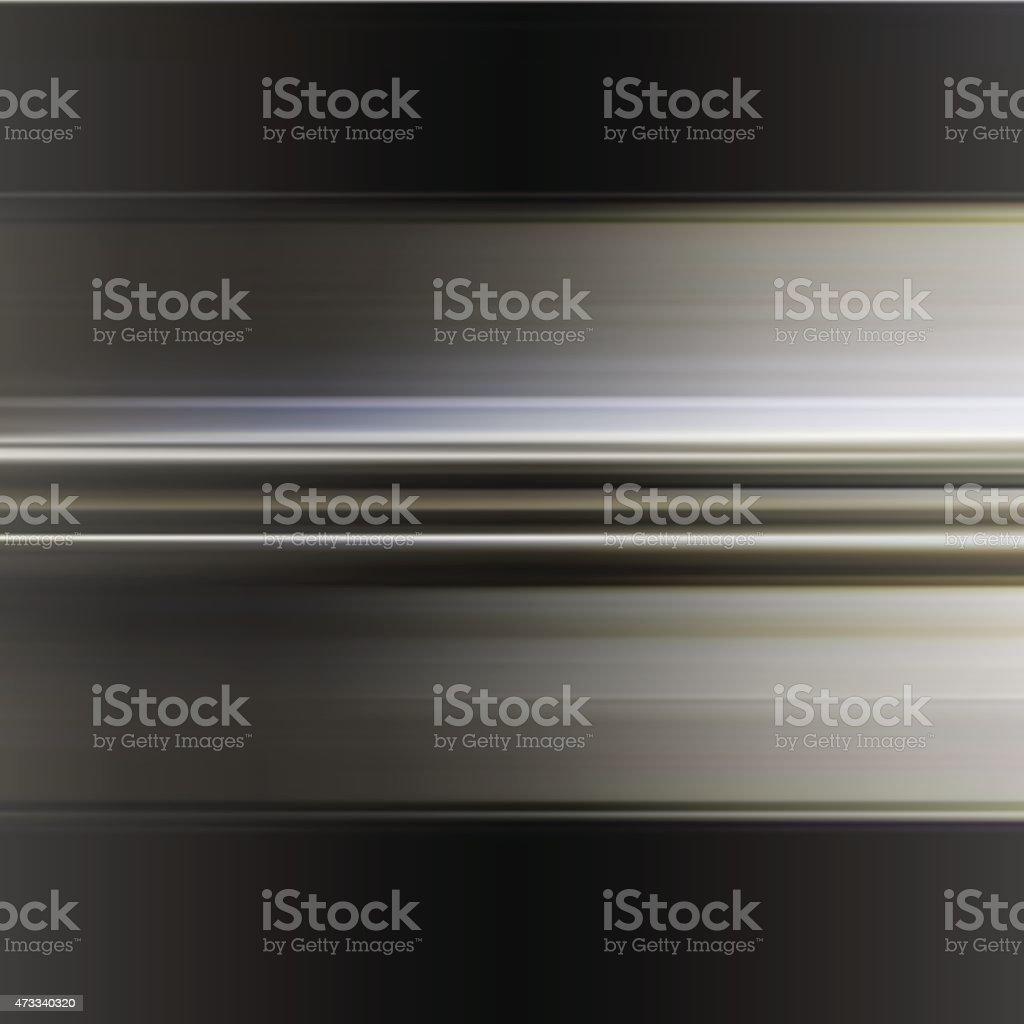 Wavy metallic background. Steel plate template. vector art illustration