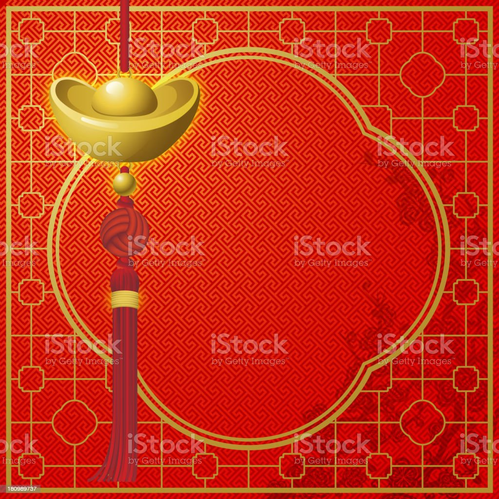 Wealth Background royalty-free stock vector art