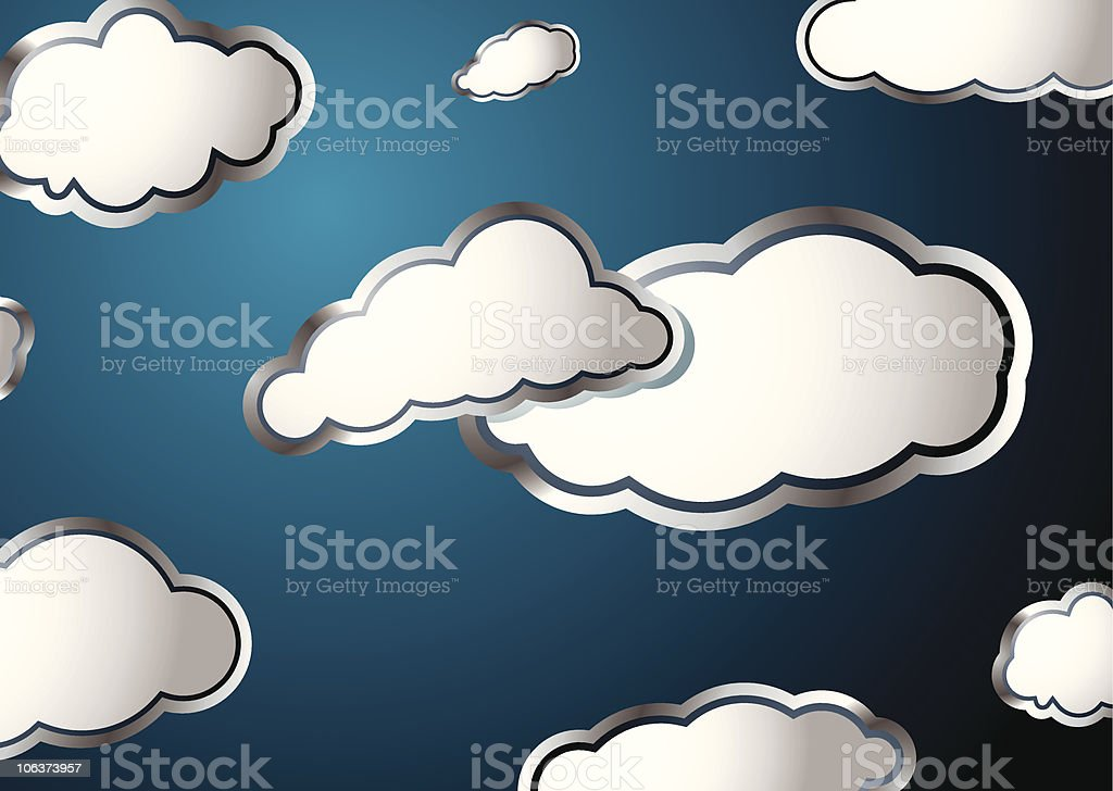 weather cloud royalty-free stock vector art