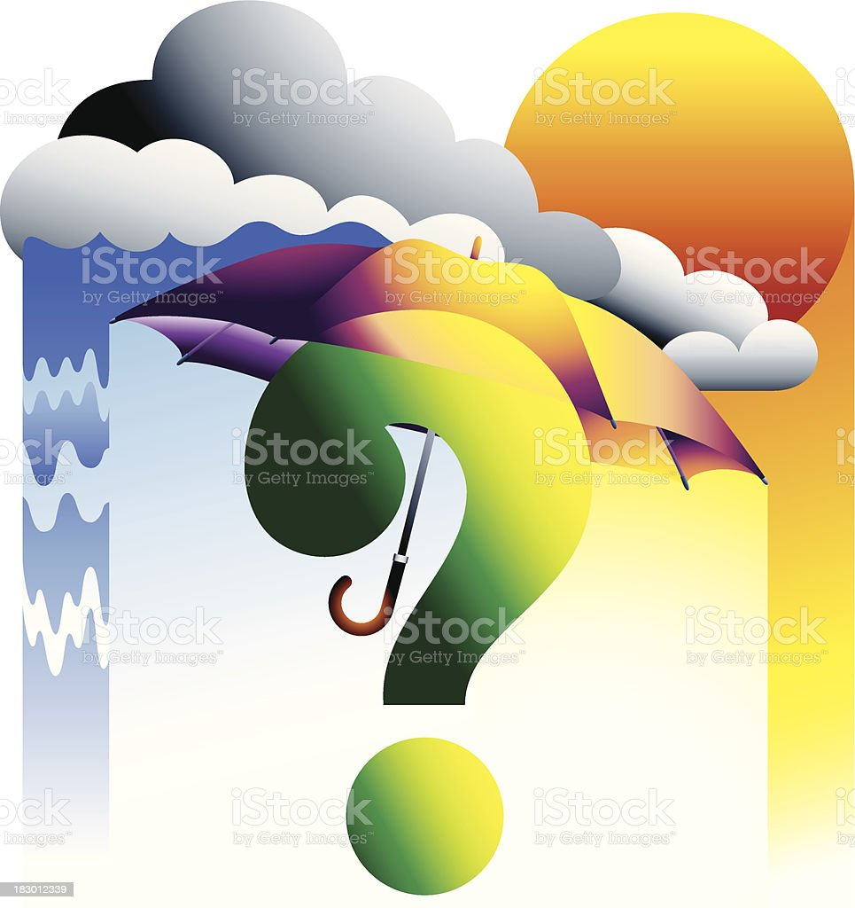 Weather Forecast royalty-free stock vector art