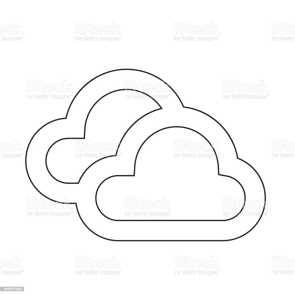 Weather Icon vector illustration vector art illustration