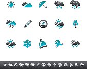 Weather Icons | Blue Grey