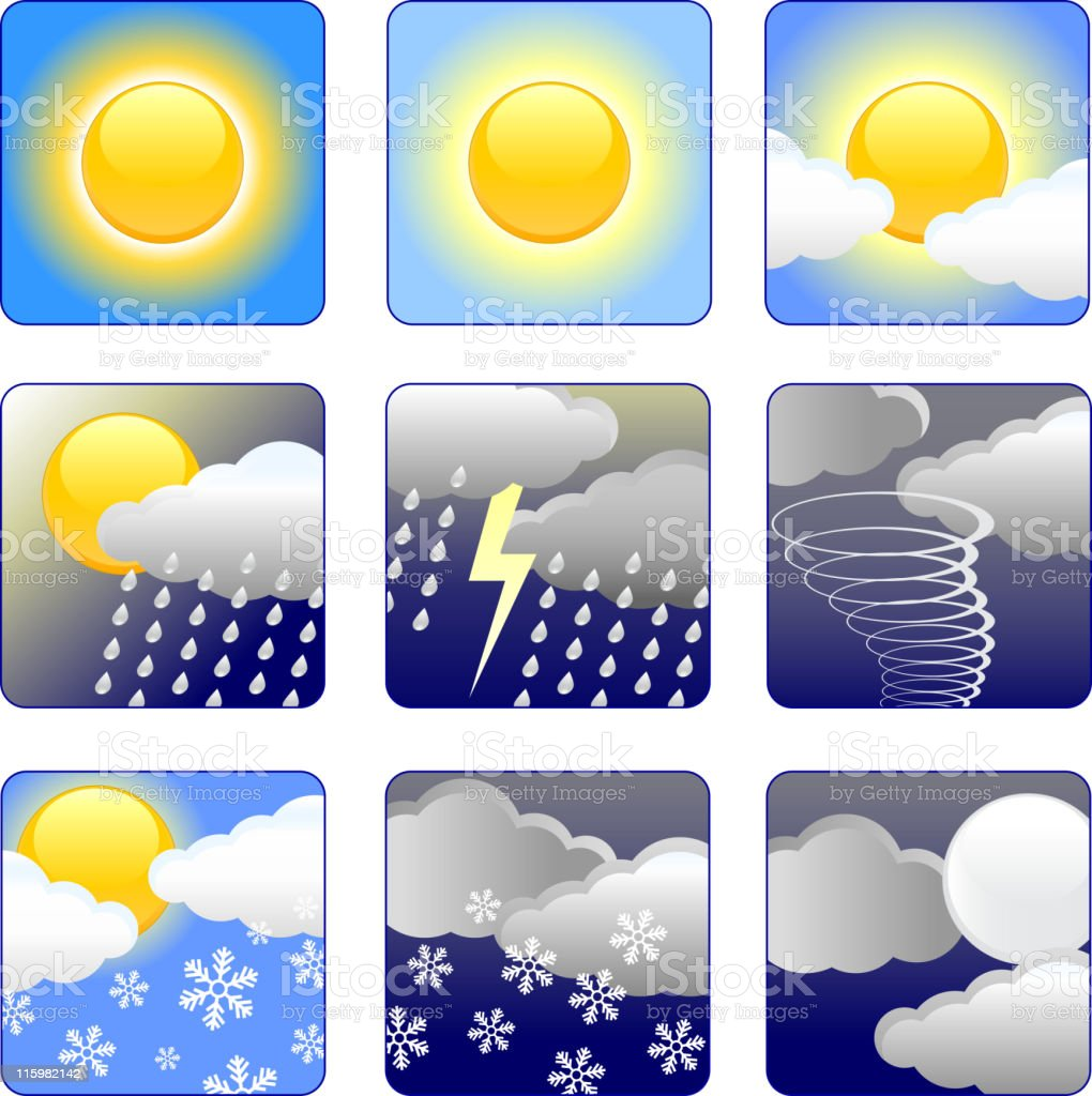 Weather royalty free vector arts royalty-free stock vector art