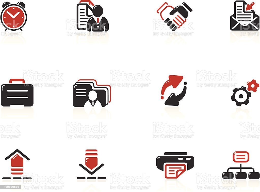 Web and Internet Icons | Nero Series royalty-free stock vector art