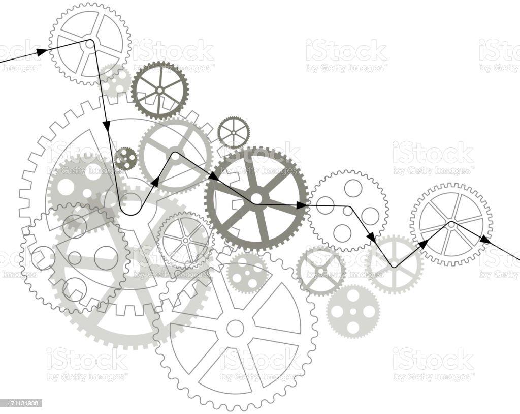 Gráfico Web y plantilla de interfaz móvil illustracion libre de derechos libre de derechos