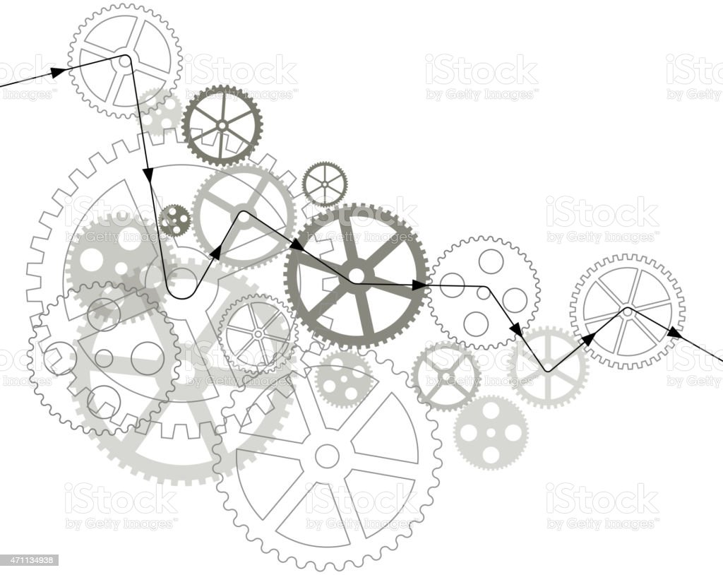 Web and mobile interface graphic template vector art illustration