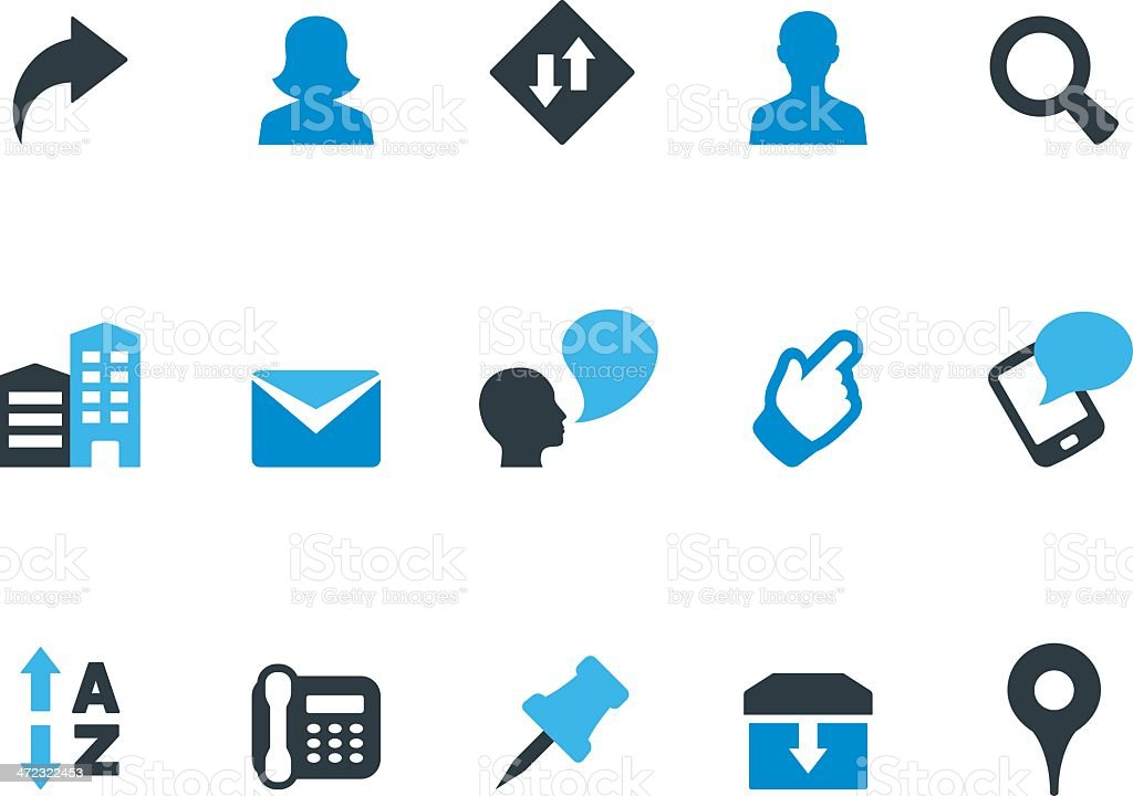 Web browse / Coolico icons vector art illustration