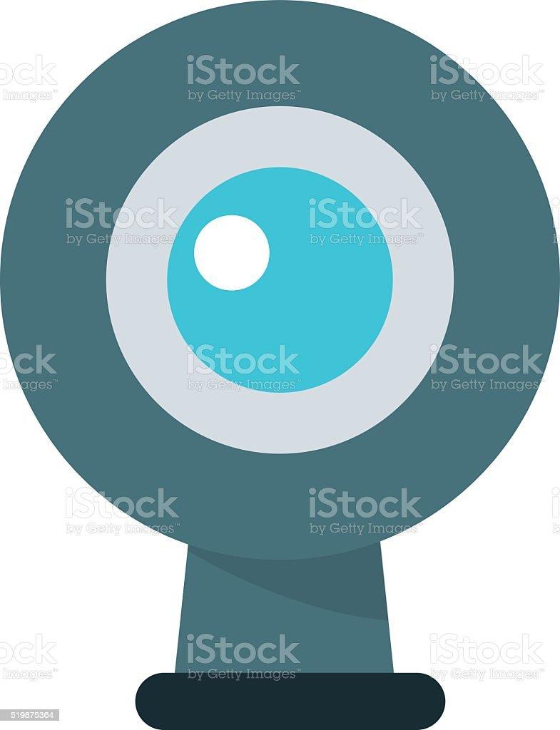 Web camera vector illustration vector art illustration