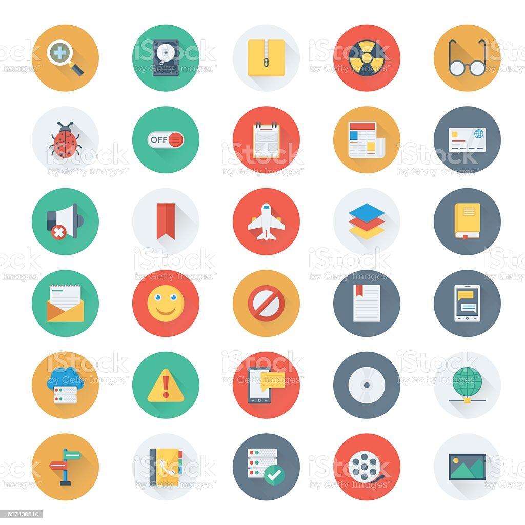 Web Design and Development Vector Icons 12 vector art illustration