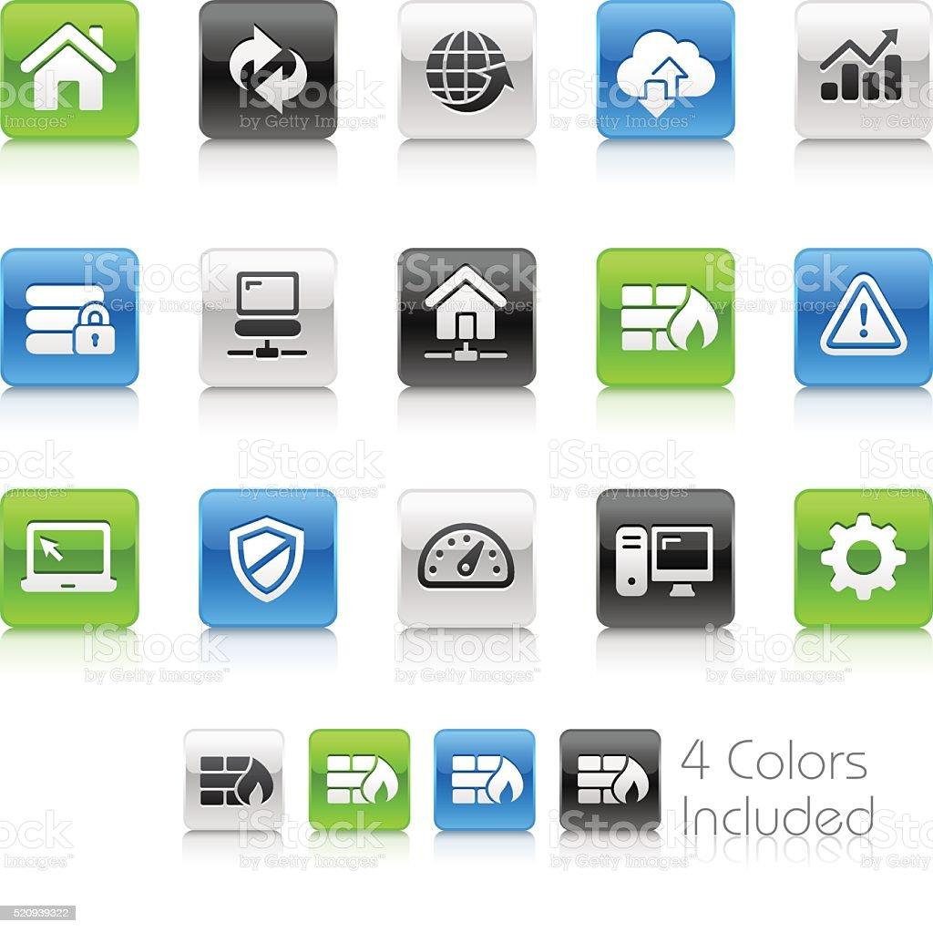 Web Developer Icons - Clean Series vector art illustration