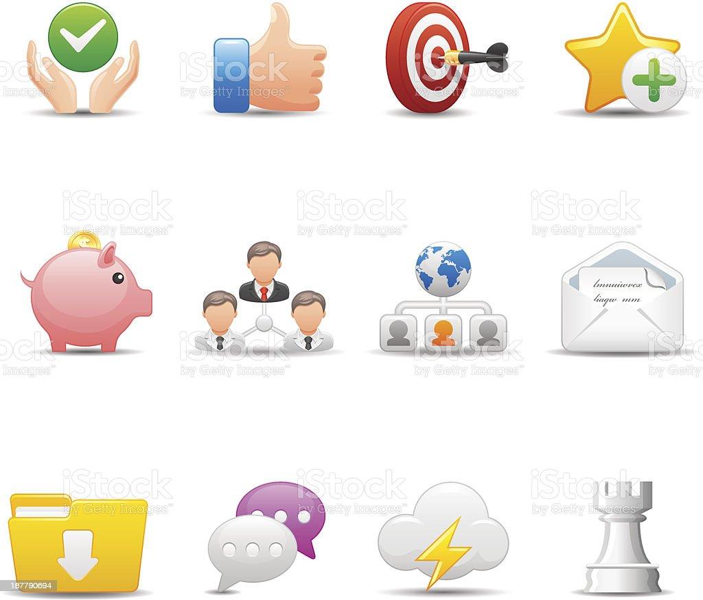 Web Icon Set | Elegant Series royalty-free stock vector art