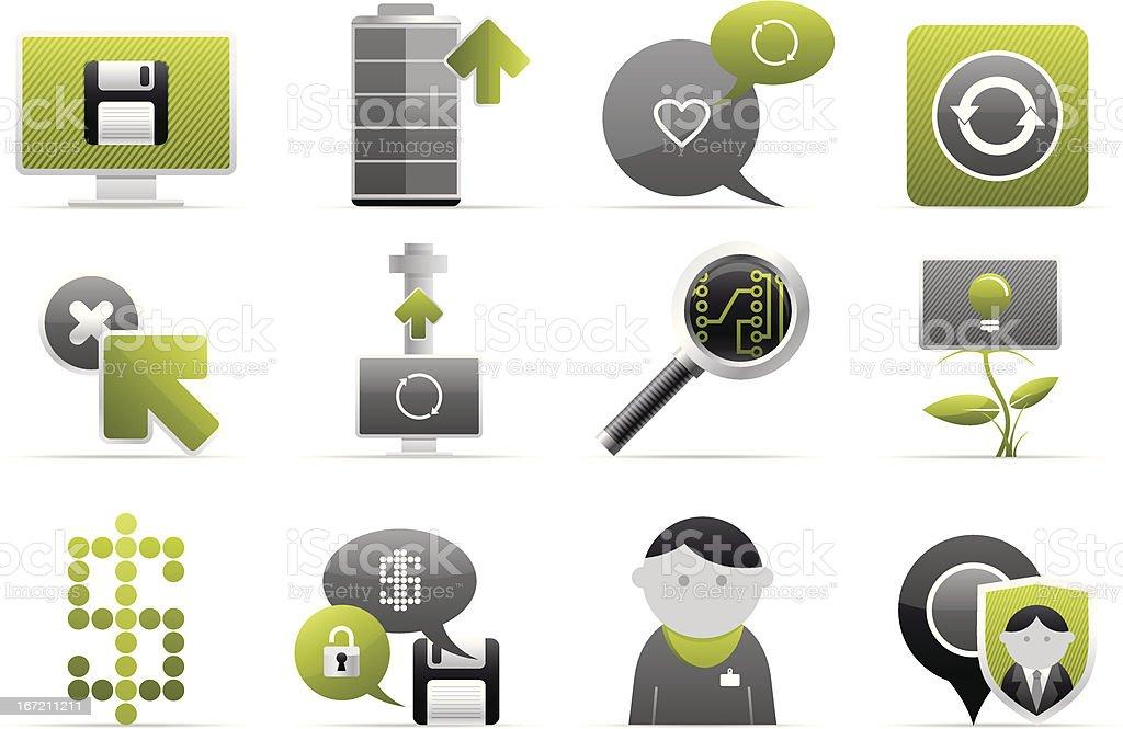 web icon royalty-free stock vector art