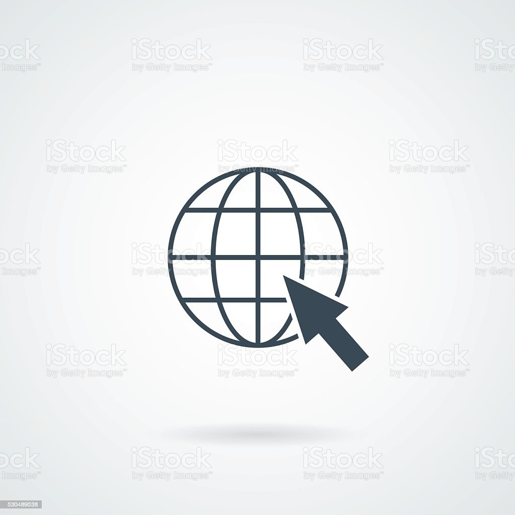 Web Icon Vector vector art illustration
