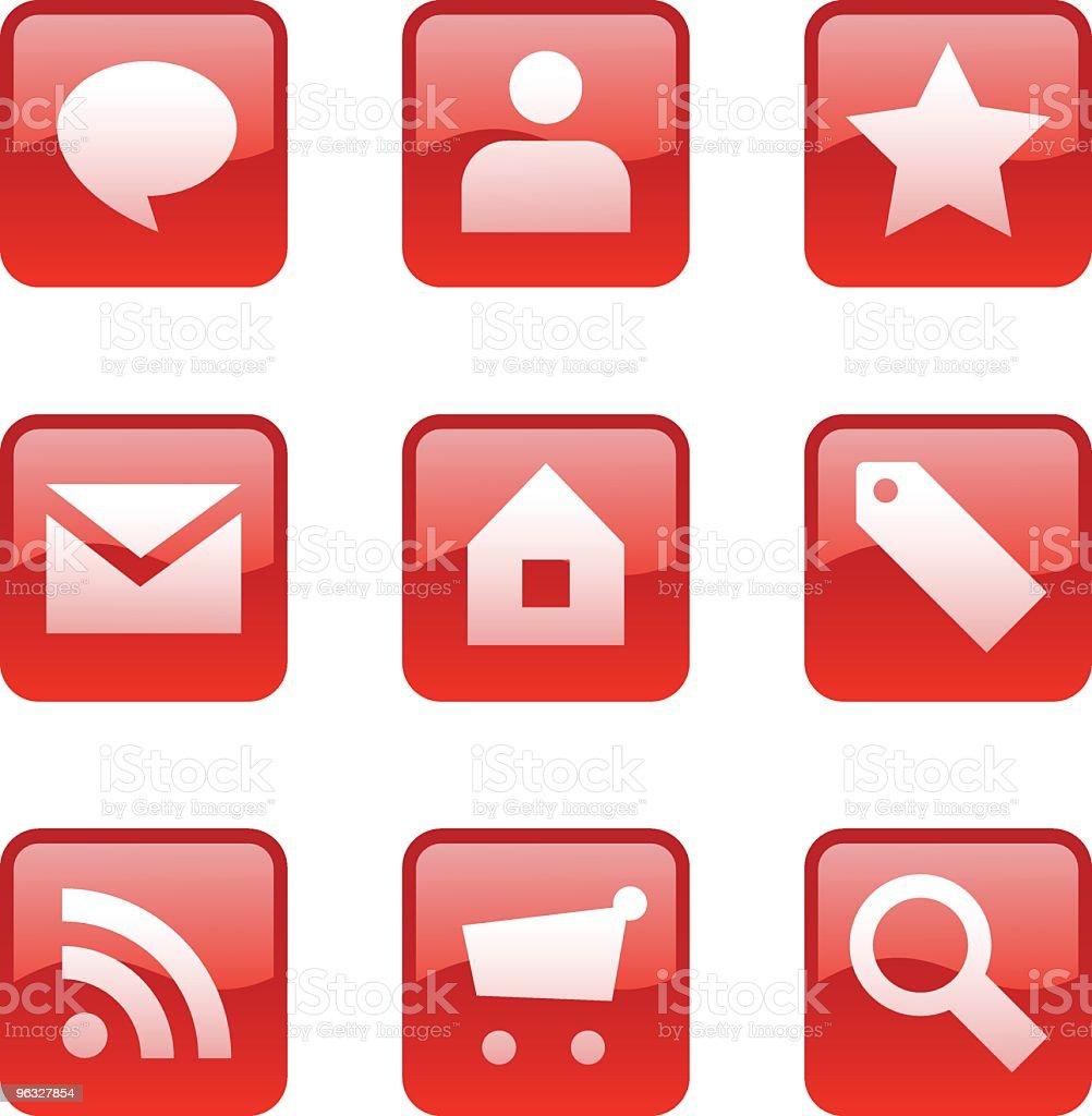 Web icons 1 royalty-free stock vector art