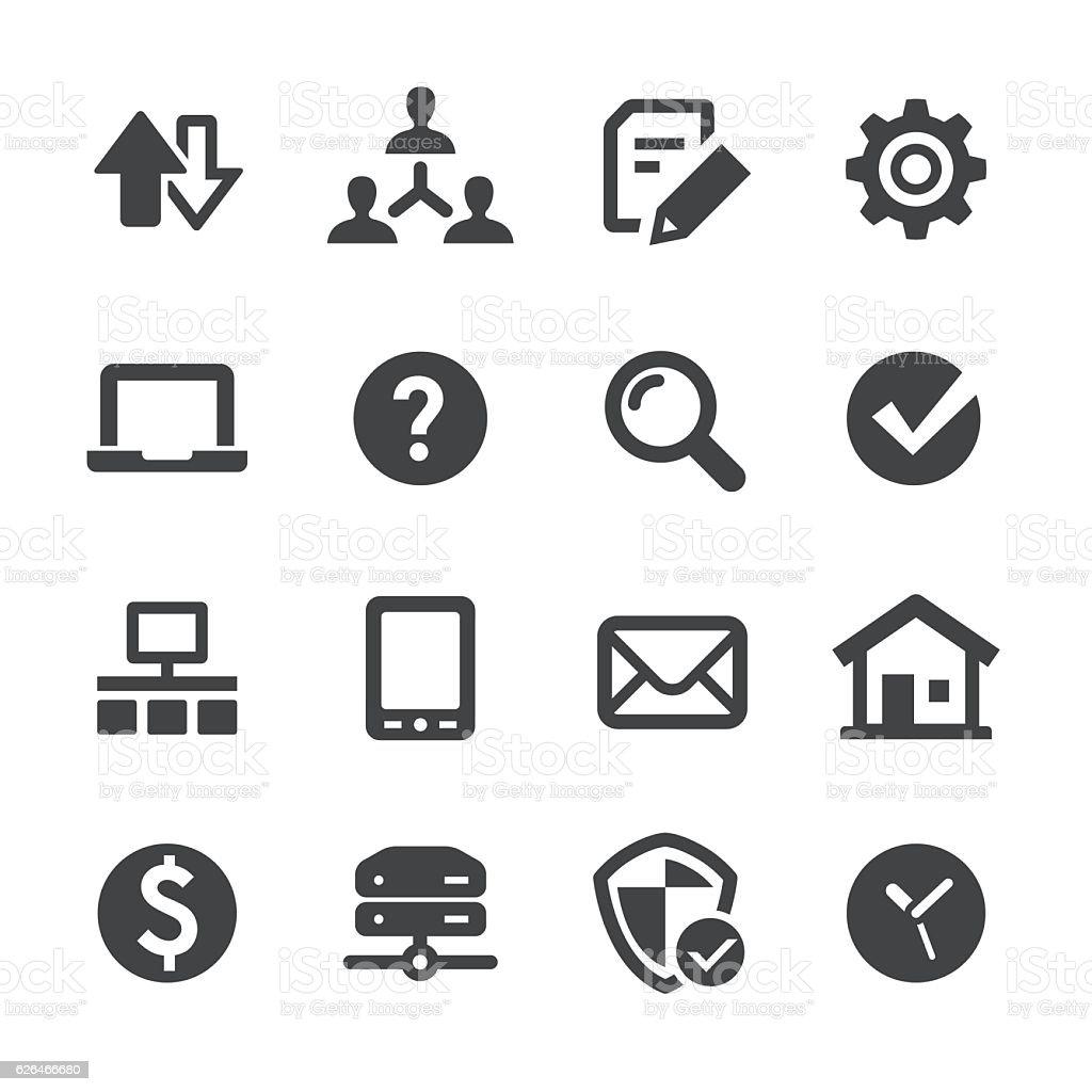 Web Icons - Acme Series vector art illustration