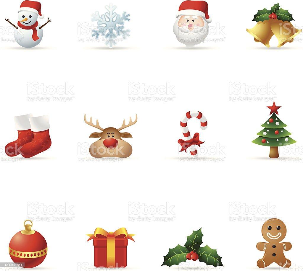 Web Icons - Christmas royalty-free stock vector art
