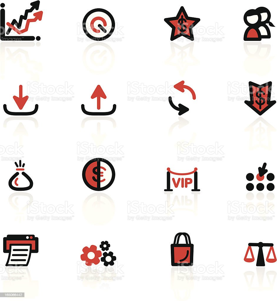 Web Icons Series royalty-free stock vector art