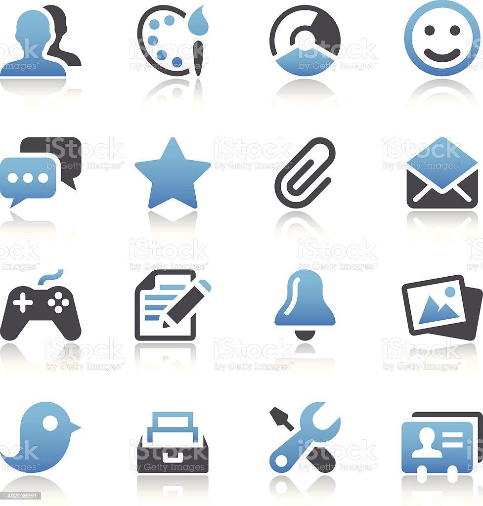 Web Icons royalty-free stock vector art